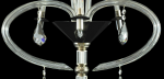 Crystal Chandeliers table Black Lady S3 lights