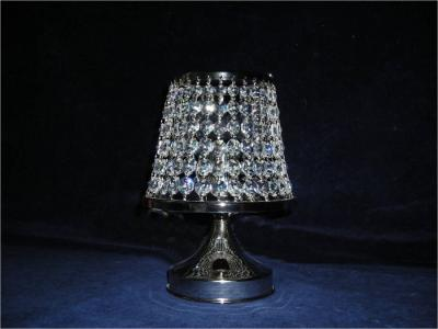 Briliant crystal chandelier 1 bulb